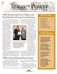 july august 2009.pmd - Texas Public Power Association!