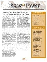 Energy's - Texas Public Power Association!