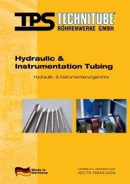 Instrumentierungsrohre - TPS TECHNITUBE RÖHRENWERKE GmbH