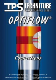 Examples for the Application of TPS OPTIFLOW ...