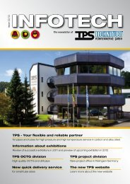 Infotech 12/2011 - TPS TECHNITUBE RÖHRENWERKE GmbH