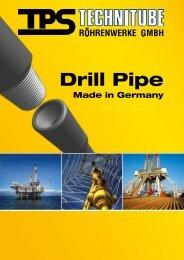Drill Pipe - TPS TECHNITUBE RÖHRENWERKE GmbH