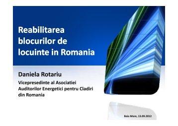 Reabilitarea blocurilor de locuinte in Romania - Climact