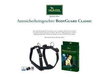 Autosicherheitsgeschirr BodyGuard Classic - Hunter