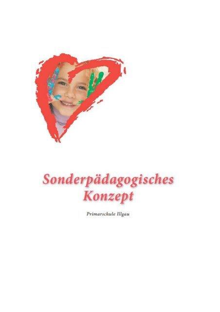 Sonderpädagogisches Konzept - Gemeinde Illgau