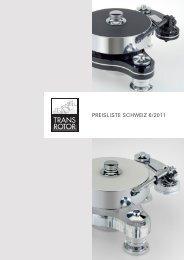 Preisliste SCHWEIZ 2011 vk.indd - Digital Unterhaltungs AG