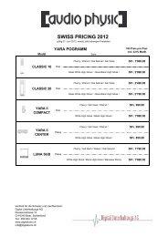 Preisliste Digital komplett_22.05.2012 - Hi-Fi Sulzer