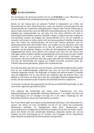 Sitzung vom 7.5.2013 - Sulzfeld