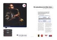 Cambridge Audio Azur 840er Serie - taurus high-end gmbh