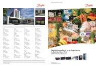 Fleksibilna rje?enja za prehrambenu industriju i trgovine - Danfoss