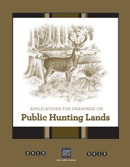 Special Drawing and Regular Permit Hunting Opportunities