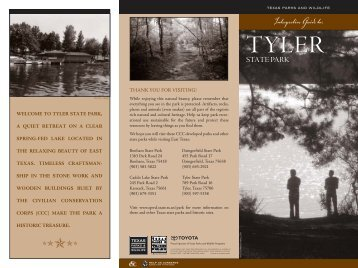 Interpretive Guide to Tyler State Park - Texas Parks & Wildlife ...