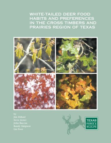 White-tailed Deer Food Habits and Preferences in the Cross Timbers