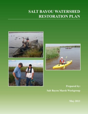 salt bayou watershed restoration plan - Texas Parks & Wildlife ...