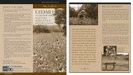 Cedar Hill State Parks and Penn Farm Agricultural History Center