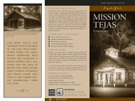 Interpretive Guide to Mission Tejas State Park - Texas Parks ...