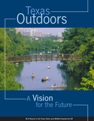 Texas Outdoors: A Vision for the Future - Texas Parks & Wildlife ...