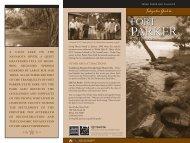 Interpretive Guide to Fort Parker State Park - Texas Parks & Wildlife ...