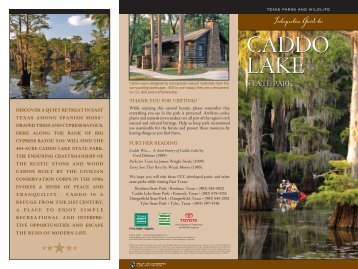 Interpretive Guide to Caddo Lake State Park - Texas Parks & Wildlife ...