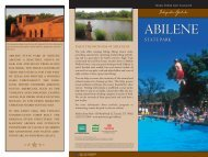 Interpretive Guide to Abilene State Park - Texas Parks & Wildlife ...