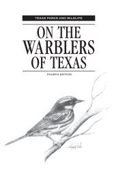 On The Warblers of Texas - Texas Parks & Wildlife Department