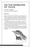 On The Warblers of Texas - Texas Parks & Wildlife Department - Page 2