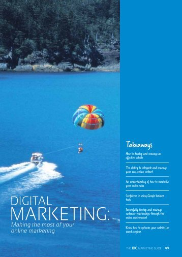 Section 4: Digital Marketing - Tourism Queensland