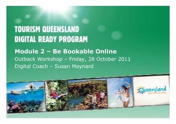 TOURISM QUEENSLAND DIGITAL READY PROGRAM