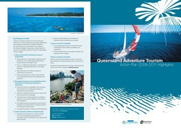 Queensland Adventure Tourism - Tourism Queensland
