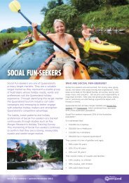 Social Fun-seekers September 2012 - Tourism Queensland