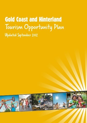 Tourism Opportunity Plan - Tourism Queensland