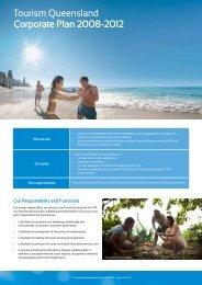 Tourism Queensland Corporate Plan 2008-2012