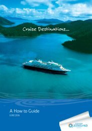 Cruise Destinations... - Tourism Queensland