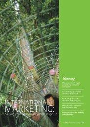 Section 5: International Marketing - Tourism Queensland