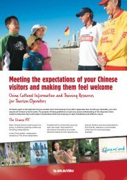Visitor Expectations - Tourism Queensland