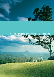 Forecasts and Targets - Tourism Queensland