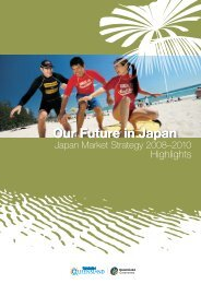 Our Future in Japan Our Future in Japan - Tourism Queensland