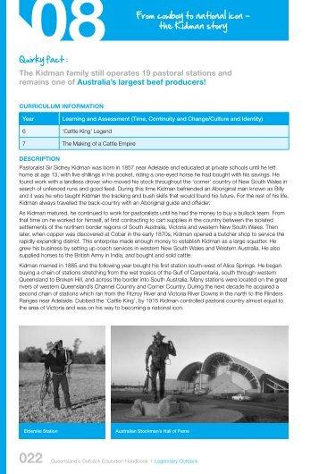 the Kidman story - Tourism Queensland