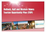 Outback TOP Presentation - Tourism Queensland