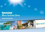 Launching the Queensland Brand - Tourism Queensland
