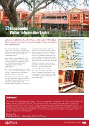 Toowoomba Visitor Information Centre - Tourism Queensland