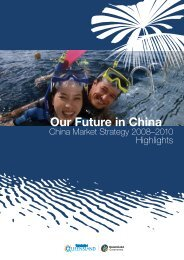 Our Future in China - Tourism Queensland