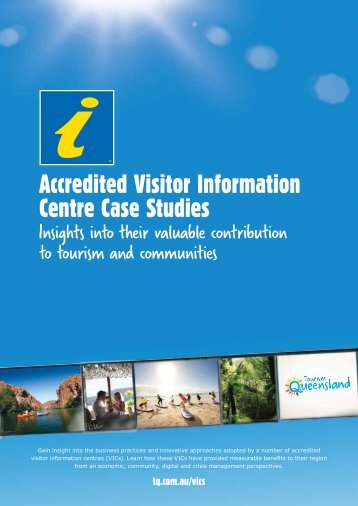 Accredited Visitor Information Centre Case Studies - Tourism ...
