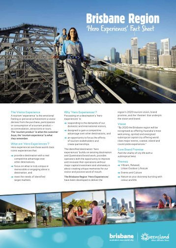 Brisbane Region - Tourism Queensland