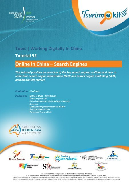 Online in China – Search Engines