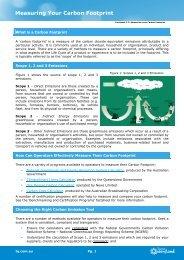 Factsheet 2.2: Measuring your Carbon Footprint