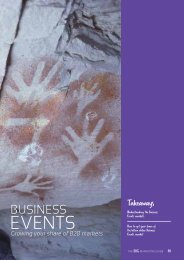 Section 6: Business Events - Tourism Queensland