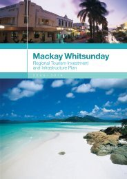 Mackay Whitsunday RTIIP - Tourism Queensland