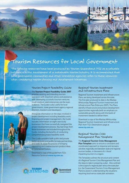 Tourism Resources for Local Government - Tourism Queensland