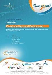 1. Managing multiple social media accounts